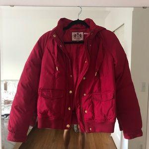 Juicy Couture Pink Vintage Puffer Jacket